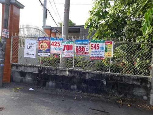 Những ngôi nhà được rao bán với giá chỉ từ 3 -5 triệu đồng/m2